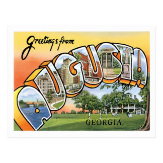 Augusta Georgia Travel US City Postcard