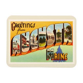 Augusta Maine ME Old Vintage Travel Souvenir Magnet