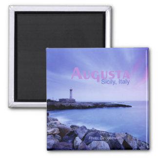 Augusta Sicily Italy Travel Souvenir Fridge Magnet
