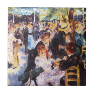 Auguste Renoir - Dance at Le moulin de la Galette Ceramic Tile