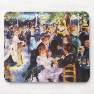 Auguste Renoir - Dance at Le moulin de la Galette Mouse Pad