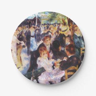 Auguste Renoir - Dance at Le moulin de la Galette Paper Plate