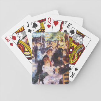 Auguste Renoir - Dance at Le moulin de la Galette Playing Cards