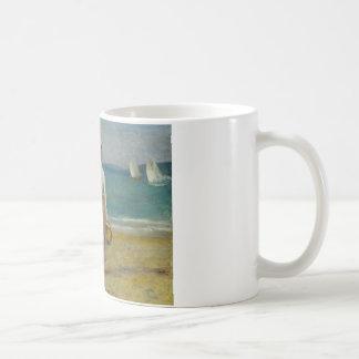 Auguste Renoir - Figures on the Beach Coffee Mug