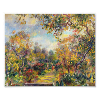 Auguste Renoir - Landscape At Beaulieu Photo Print
