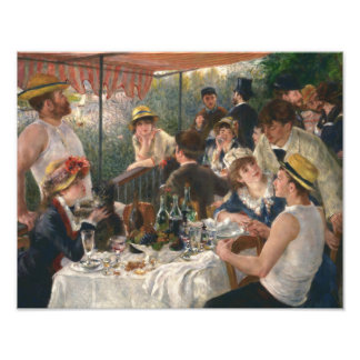 Auguste Renoir - Luncheon of the Boating Party Photo Art