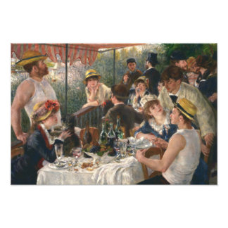 Auguste Renoir - Luncheon of the Boating Party Photo Print