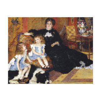Auguste Renoir Madame Georges Charpentier Canvas Print
