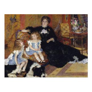 Auguste Renoir - Madame Georges Charpentier Postcard