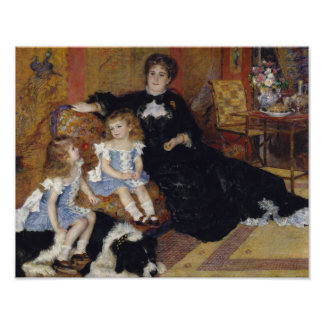 Auguste Renoir - Madame Georges Charpentier Poster