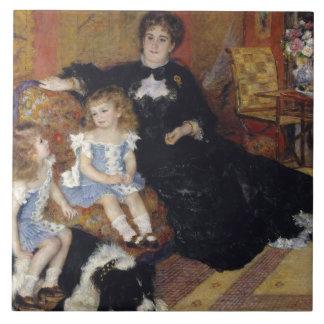 Auguste Renoir - Madame Georges Charpentier Tile
