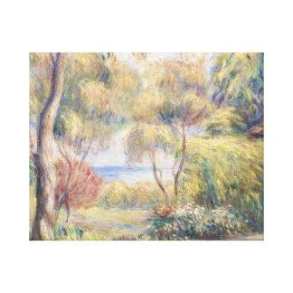 Auguste Renoir - Paysage a Cagnes Canvas Print