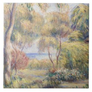 Auguste Renoir - Paysage a Cagnes Ceramic Tile
