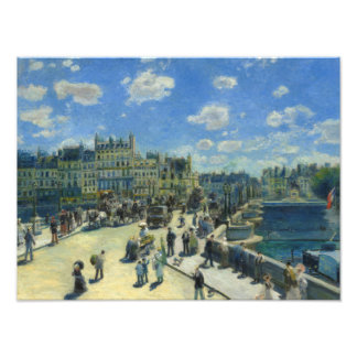 Auguste Renoir - Pont Neuf, Paris Photo Print