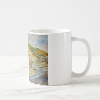 Auguste Renoir - Sea and Cliffs Coffee Mug