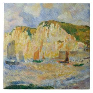 Auguste Renoir - Sea and Cliffs Tile