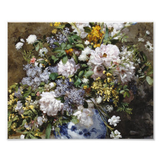 Auguste Renoir - Spring Bouquet .Spring Photo Print