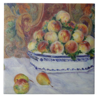 Auguste Renoir - Still Life with Peaches Ceramic Tile