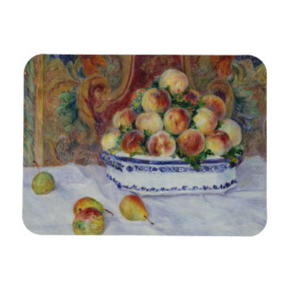 Auguste Renoir - Still Life with Peaches Magnet