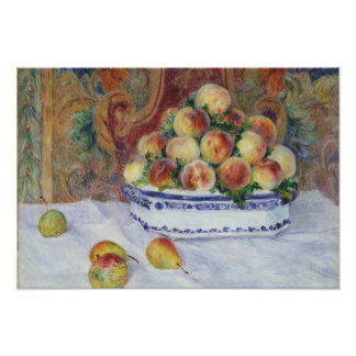 Auguste Renoir - Still Life with Peaches Photo Print