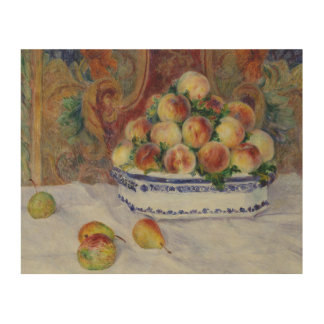 Auguste Renoir - Still Life with Peaches Wood Wall Decor