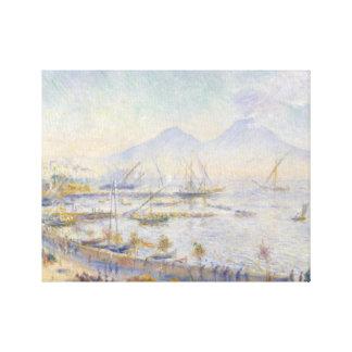 Auguste Renoir - The Bay of Naples Canvas Print