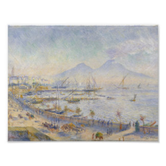 Auguste Renoir - The Bay of Naples Poster