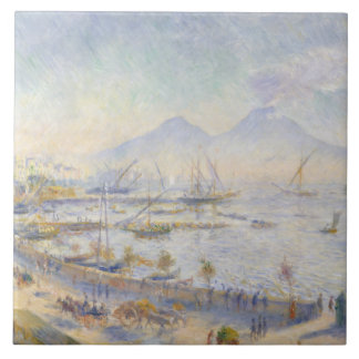 Auguste Renoir - The Bay of Naples Tile