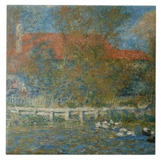 Auguste Renoir - The Duck Pond Ceramic Tile