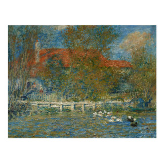 Auguste Renoir - The Duck Pond Postcard