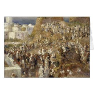 Auguste Renoir - The Mosque Card