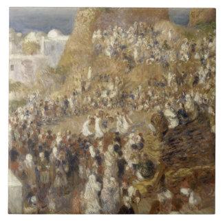 Auguste Renoir - The Mosque Ceramic Tile