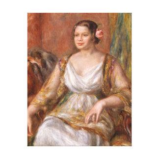 Auguste Renoir Tilla Durieux Canvas Print