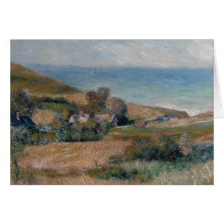 Auguste Renoir - View of the Seacoast Card