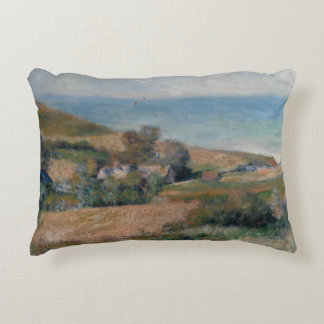 Auguste Renoir - View of the Seacoast Decorative Cushion