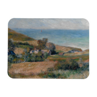 Auguste Renoir - View of the Seacoast Rectangular Photo Magnet