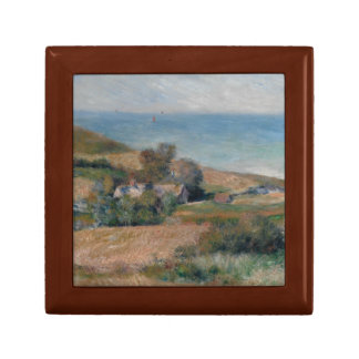 Auguste Renoir - View of the Seacoast Small Square Gift Box