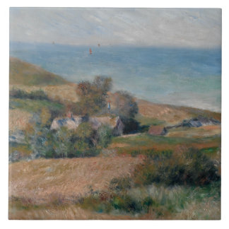 Auguste Renoir - View of the Seacoast Tile