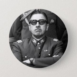 Augusto Pinochet 7.5 Cm Round Badge