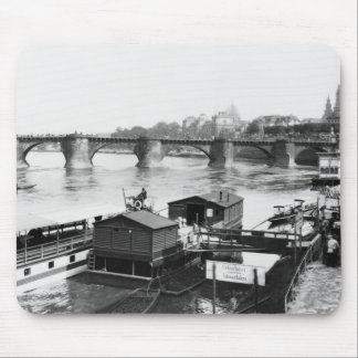 Augustus Bridge, Dresden, c.1910 Mouse Pad