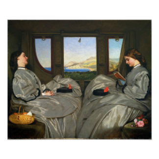 Augustus Leopold Egg The Travelling Companions Poster