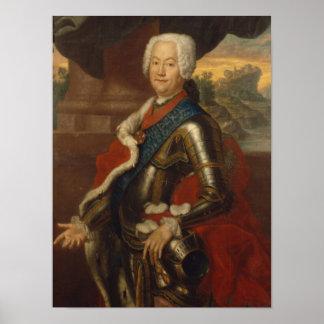 Augustus Louis, Prince of Anhalt-Kothen Poster