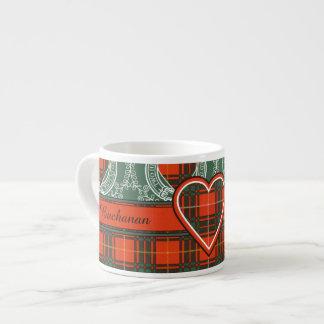 Aulay clan family Plaid Scottish kilt tartan Espresso Mug