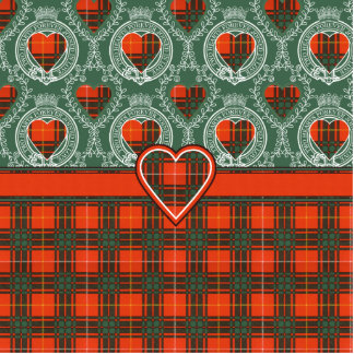 Aulay clan family Plaid Scottish kilt tartan Photo Sculpture Magnet