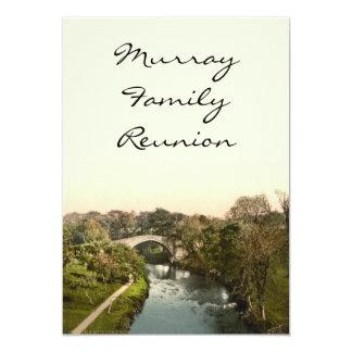Auld Brig O'Doon, Ayrshire, Scotland Card
