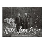 Auld Lang Syne Script | New Year Photo Card