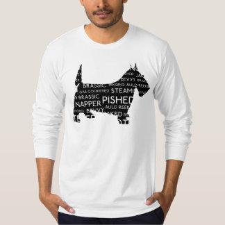 Auld Reekie Scottie Scottish Slang T-Shirt