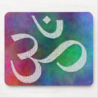 Aum Colourful OM Mouse Pad