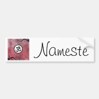 Aum (om) Sacred Hindu Symbol Bumper Sticker
