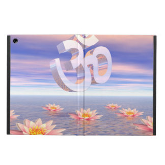 Aum - om upon waterlilies - 3D render Case For iPad Air